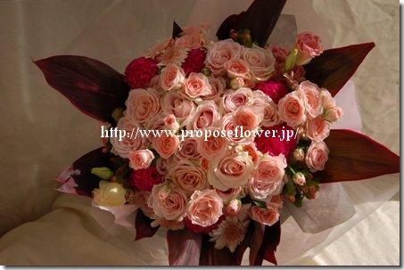 横浜ロイヤルパークホテルでプロポーズのバラ