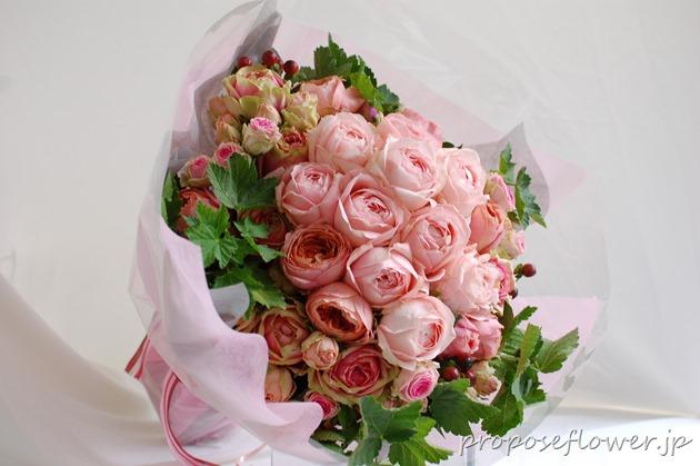 プロポーズ花