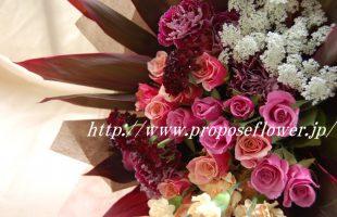 母の日お洒落な花束ギフト